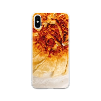 家の餃子 Soft clear smartphone cases