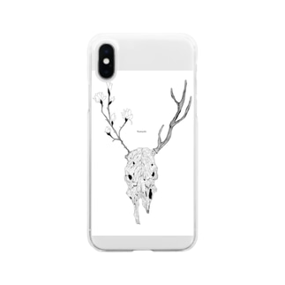 Magnolia Soft clear smartphone cases