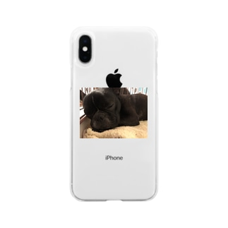 楓花のお音夢 Soft clear smartphone cases