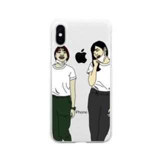 ベストフレンズ Soft clear smartphone cases