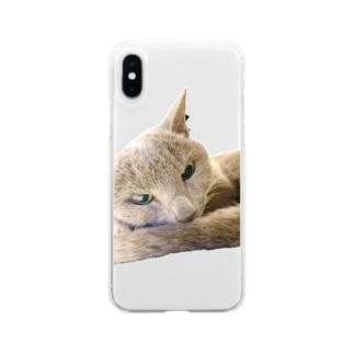 こはくさん/アンニュイ写真 Soft clear smartphone cases