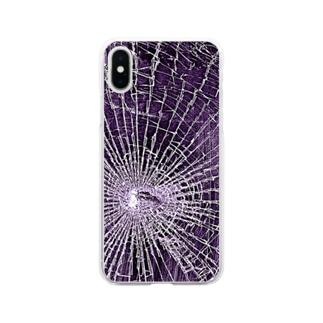 バキバキケース Soft clear smartphone cases