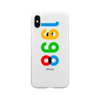 marikiroの1998_西暦 Soft clear smartphone cases
