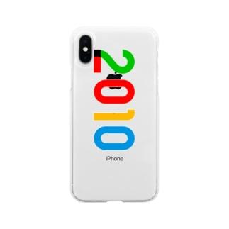 marikiroの2010_西暦 Soft clear smartphone cases