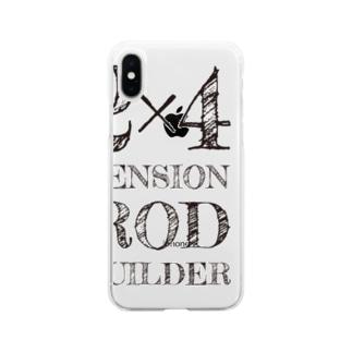 2×4ビルダーズ 薄用 Soft clear smartphone cases