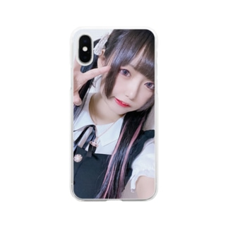 おんな2 Soft clear smartphone cases
