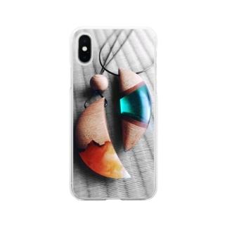 ウッドレジンのアクセサリー Soft clear smartphone cases