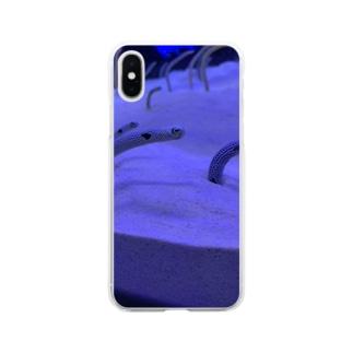 何を見てるの? Soft clear smartphone cases