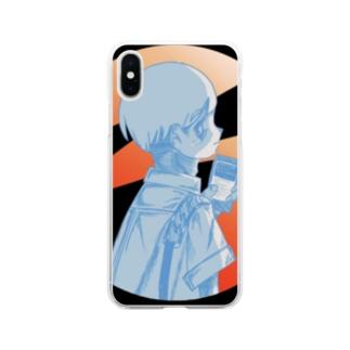 焦がれ損 Soft clear smartphone cases