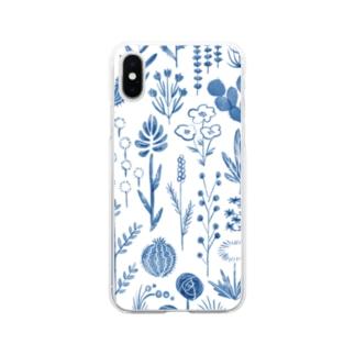 くさばな Soft Clear Smartphone Case