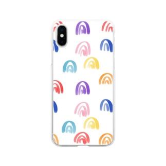 yoshikoのpeaceful Soft clear smartphone cases