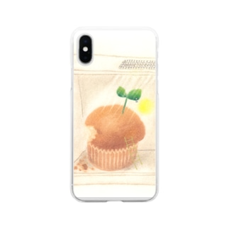 Fumiko💫のマフィン Soft clear smartphone cases