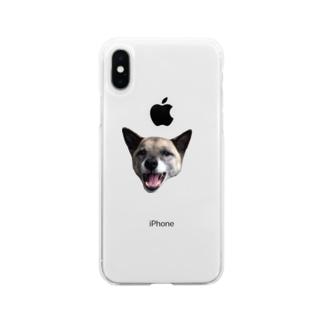 いちごちゃん Soft clear smartphone cases