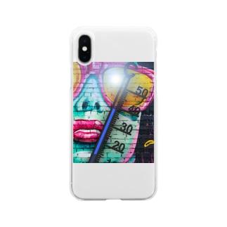 サマータイム Soft clear smartphone cases