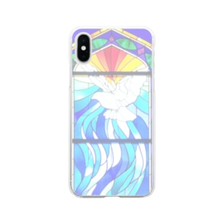stained glass Soft clear smartphone cases