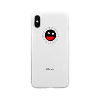 友達が欲しいコロコロちゃん Soft clear smartphone cases