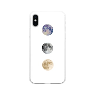 moon case Soft clear smartphone cases