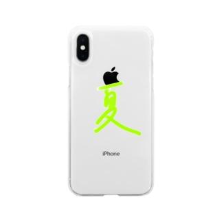 夏 Soft clear smartphone cases