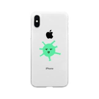 ういるすくん Soft clear smartphone cases