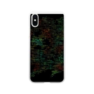 sereneのデジタル空間 Soft clear smartphone cases