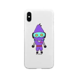 jeidキャラショップのゼン Soft clear smartphone cases