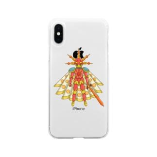 jeidキャラショップのソル Soft clear smartphone cases