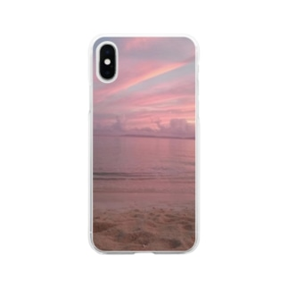 love ocean Soft clear smartphone cases