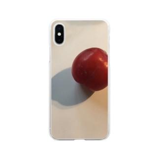 yuppyhappyのすもも Soft clear smartphone cases