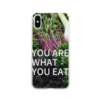 You are what you eat  Soft clear smartphone cases