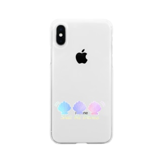 ℃rea°のShell We Dance Soft clear smartphone cases