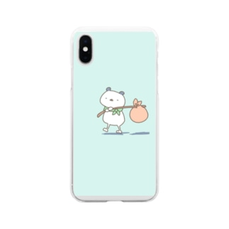 旅パンダ Soft clear smartphone cases