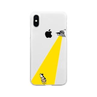 アブダクション シリーズ Soft Clear Smartphone Case