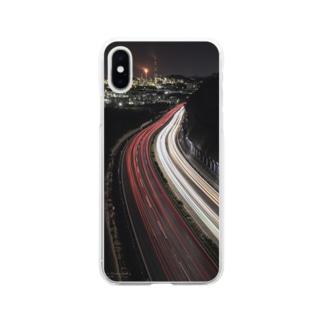 夜景のスマホケース Soft clear smartphone cases