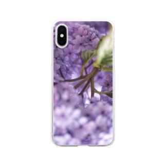 水無月の魔法 Soft clear smartphone cases
