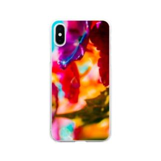 梅雨晴れ Soft clear smartphone cases