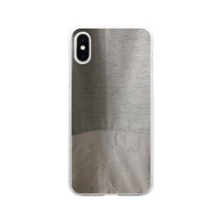 カーテン Soft clear smartphone cases