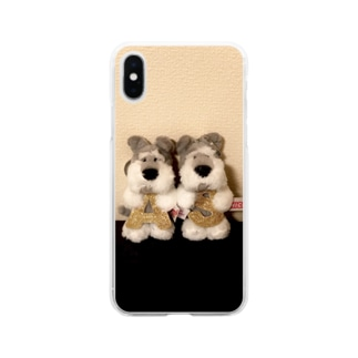 ぐんそーのペアAとSが偶然被った人用 Soft clear smartphone cases