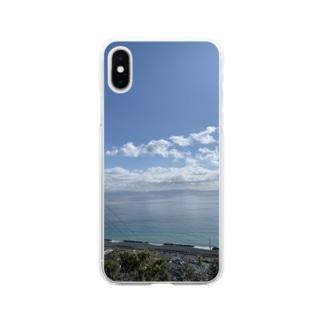 海のスマホケース Soft clear smartphone cases