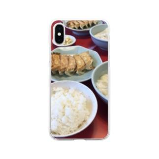 餃子NOMIYA Soft clear smartphone cases