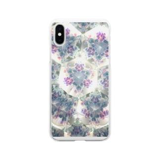 Parfume-weaverの万華鏡 Soft clear smartphone cases