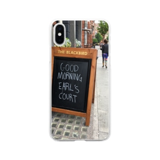 good morning Soft clear smartphone cases