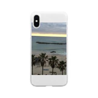 海大好きグッズ Soft clear smartphone cases