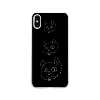かいねこべいべ Soft clear smartphone cases
