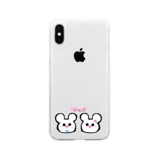 ずっといっしょ♥ Soft clear smartphone cases