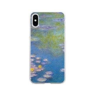 クロード・モネ / 1908 / Water Lilies / Claude Monet Soft clear smartphone cases