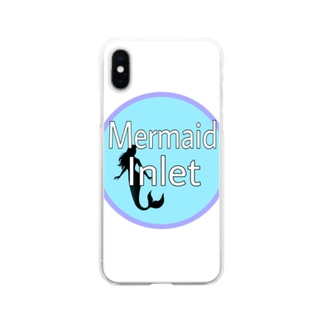 Mermaid Inlet Soft clear smartphone cases