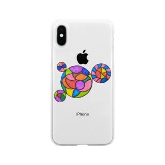 サーコ~ Soft clear smartphone cases