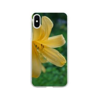 日光黄菅 Soft clear smartphone cases