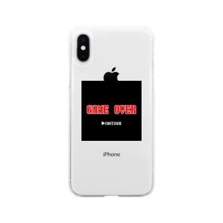 CONTINUEしか選択肢ない Soft clear smartphone cases