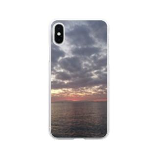 宵 Soft clear smartphone cases